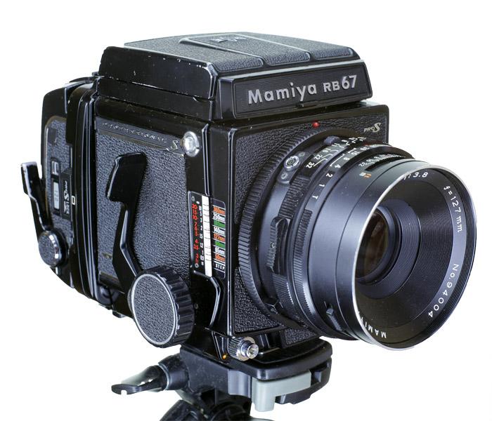 Mamiya RB67 Pro S 購入